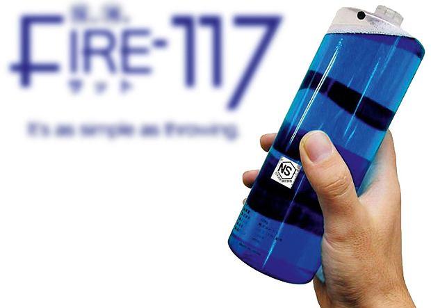 FIRE-117 Или Японский Анти-Молотов Для Тушения Пожаров!