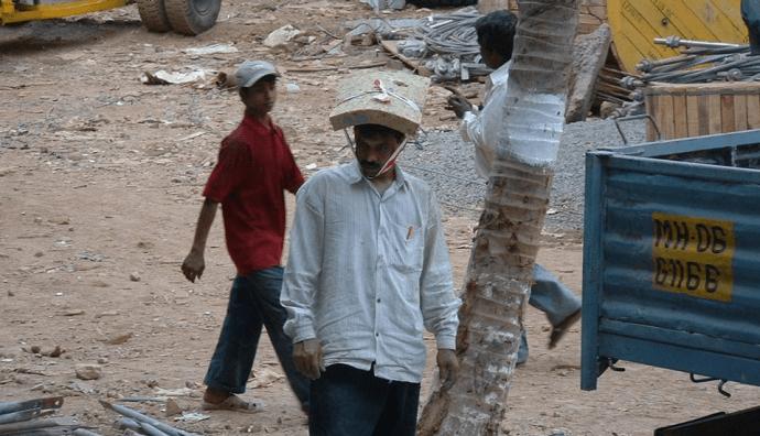 Охрана Труда в Индонезии или Как Строитель Устремился Вверх!