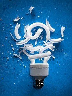 Энергосберегающие Лампы: Воздействие Ртути в Примере!
