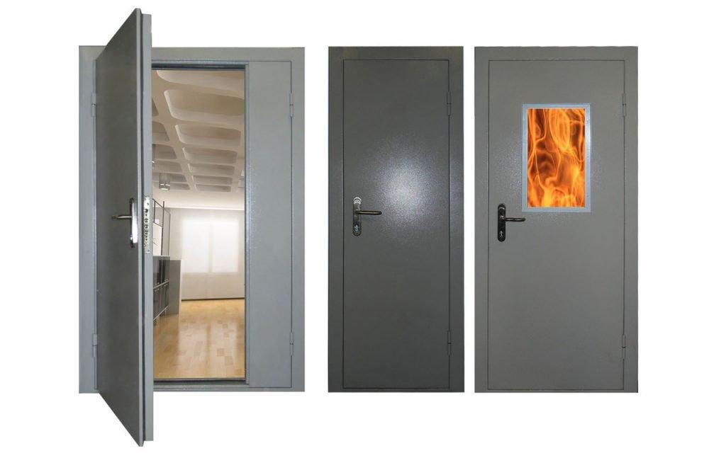 проверка противопожарных дверей