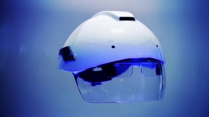 DAQRI Smart Helment-Средства Индивидуальной Защиты Будущего!