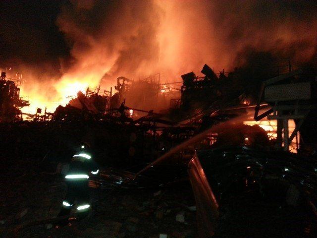 Взрыв На Ачинском НПЗ. Как Это Было!
