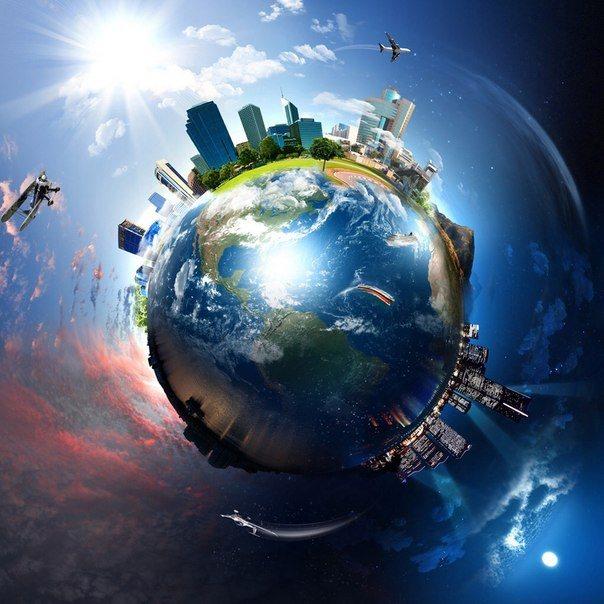 А Сегодня День Земли!