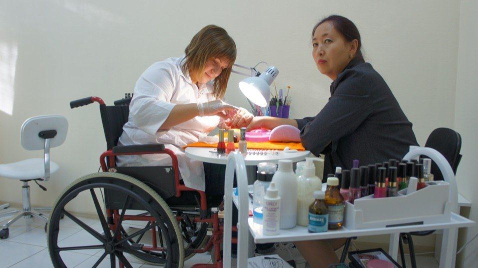 как охрана туда инвалидов
