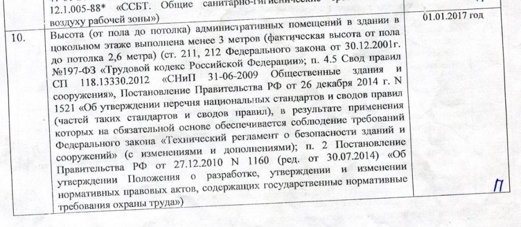 Часть 8 Постановления ГИТ СПб