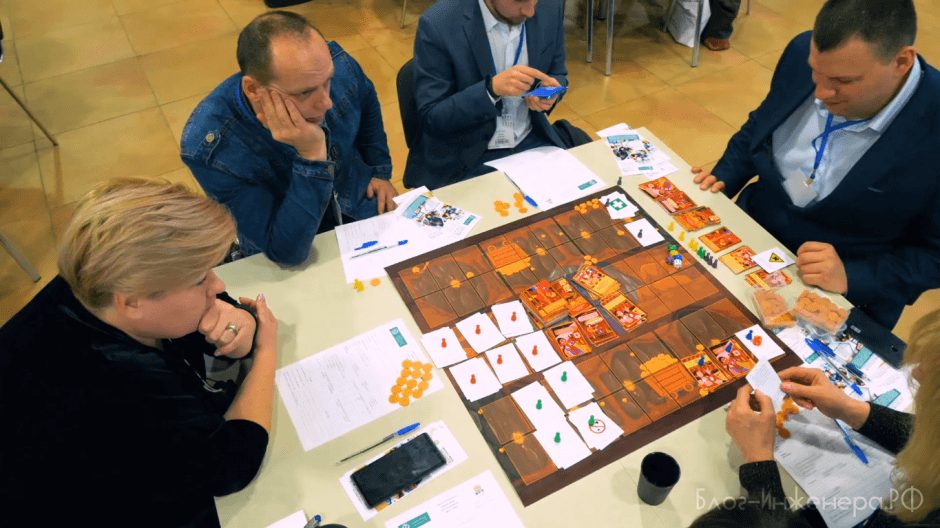 деловая игра по охране труда - стол 1