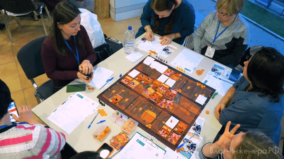 деловая игра по охране труда - стол 2