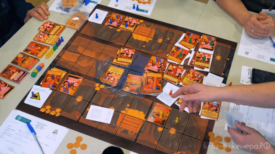 деловая игра по охране труда - стол 3