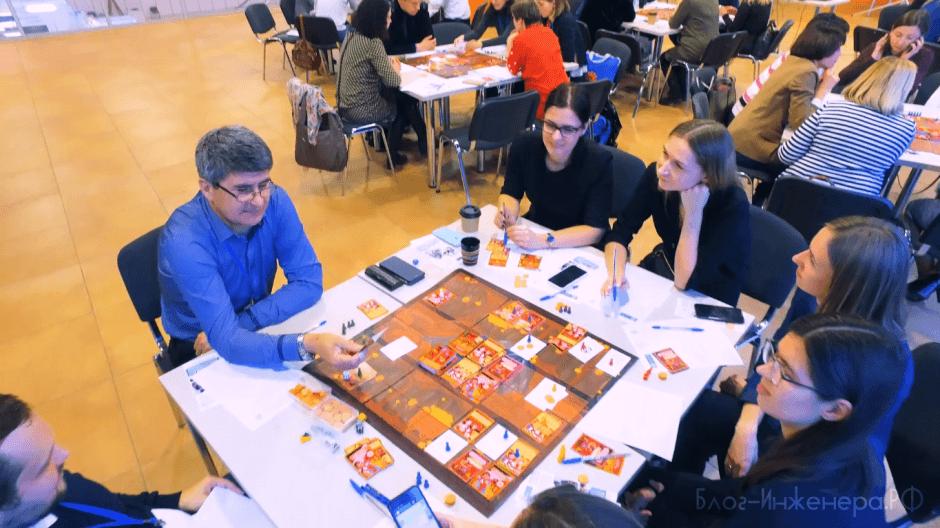 деловая игра по охране труда - стол 6