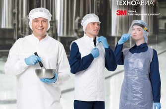 комплексная экипировка сотрудника пищевого производства